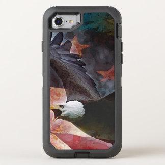 Patriotischer Weißkopfseeadler iPhone 6/6s OtterBox Defender iPhone 8/7 Hülle