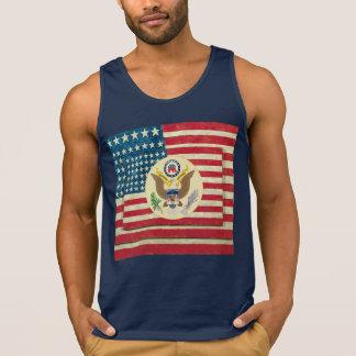 Patriotisches 4. des Juli-Flaggen-T - Shirt