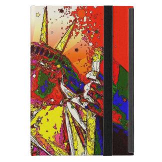 Patriotisches abstraktes Freiheitsstatue New York iPad Mini Etui