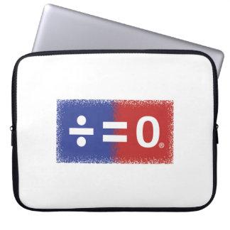 Patriotisches amerikanisches Einheits-Symbol Laptop Sleeve