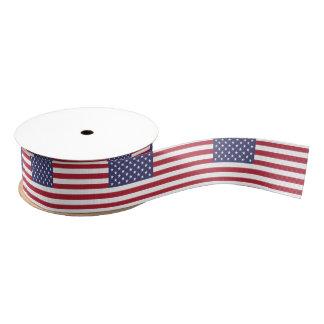 Patriotisches Band mit Flagge von USA Ripsband