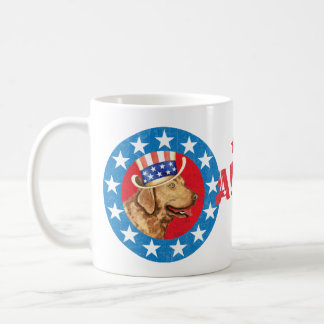 Patriotisches Chessie Kaffeetasse