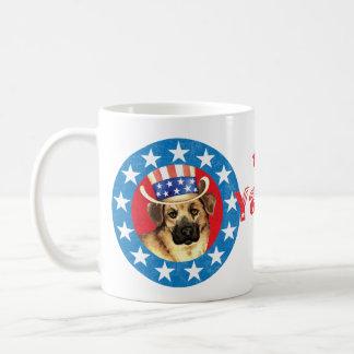 Patriotisches Chinook Kaffeetasse