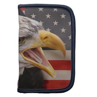 Patriotisches Eagle-Bild-Geldbörsen-Folio Mappe