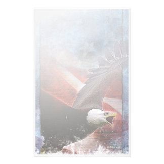 Patriotisches Eagle-Stationäres Briefpapier