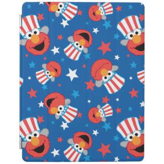 Patriotisches Elmo Muster iPad Hülle