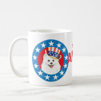 Patriotisches Eskie Kaffeetasse
