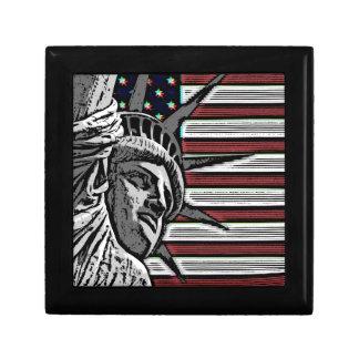 Patriotisches Freiheitsstatue Geschenkbox