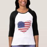 Patriotisches Herz Shirt