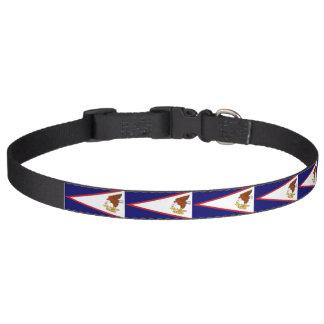 Patriotisches Hundehalsband mit Flagge von Haustierhalsband