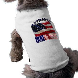 Patriotisches Mamma-Amerikaner-Kleid Top