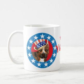 Patriotisches morgens-Personal Kaffeetasse