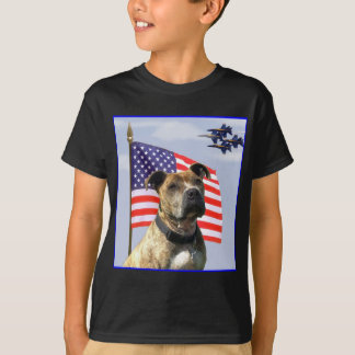 Patriotisches pitbull Shirt