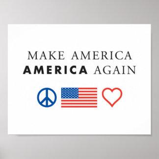 Patriotisches Plakat Amerikas