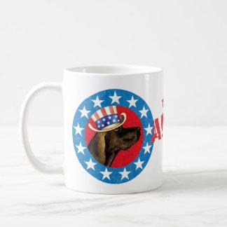 Patriotisches Plott Kaffeetasse