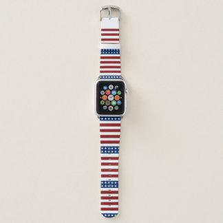 Patriotisches US Flagge Apple Watch Armband