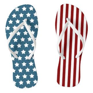Patriotisches US Flagge Badesandalen