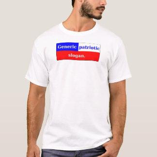 Patriotismus ist nicht ein Fad. T-Shirt