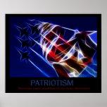 Patriotismus-Plakat