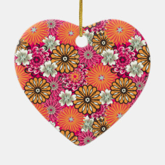 Pattern_Flower #02 Keramik Ornament