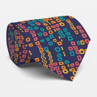 Patterncampchallengeties-Bosko-Stammes-Geometrisch Krawatten