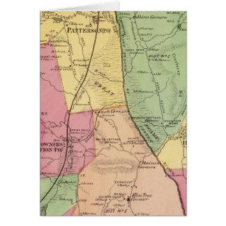 Patterson, Stadt Karte