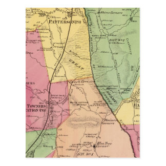 Patterson, Stadt Postkarte