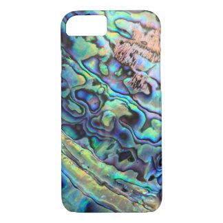 Paua Ohrschnecken-Muscheldetail iPhone 8/7 Hülle