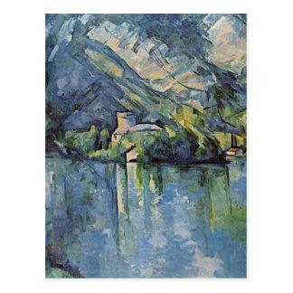 Paul Cézanne - Annecy See Postkarte