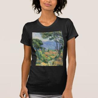 Paul Cezanne - Ansicht von L'Estaque und Chateaux T-Shirt