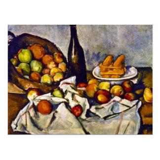 Paul Cezanne - Apple-Korb Postkarte