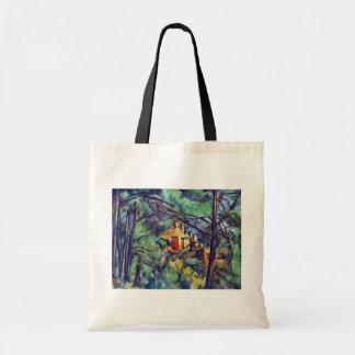 Paul Cezanne - Chateau Noir der schwarze Landsitz Tragetasche