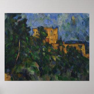 Paul Cezanne - Chateau Noir Poster