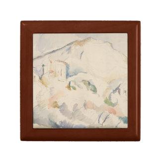 Paul Cezanne-Chateau Noir und Mont Sainte-Victoire Erinnerungskiste