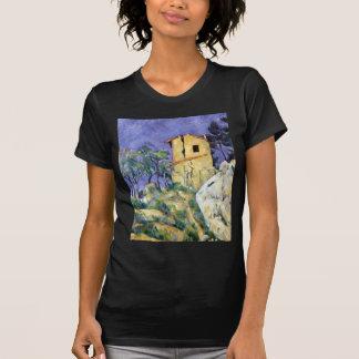 Paul Cezanne das Haus mit den gebrochenen Wänden T-Shirt