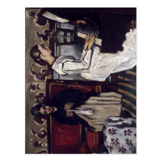 Paul Cezanne der Annäherungsversuch zu Tannhauser: Postkarte