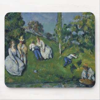 Paul Cezanne - der Teich Mousepad
