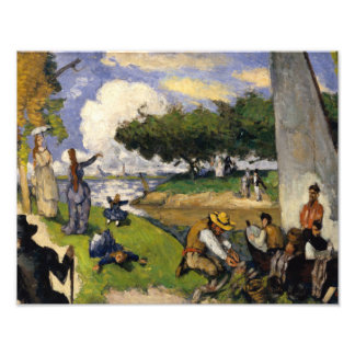 Paul Cezanne - die Fischer Fotodruck