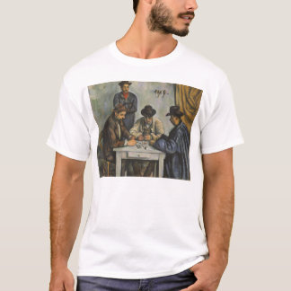 Paul Cézanne - die Kartenspieler T-Shirt