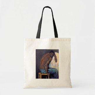 Paul Cezanne - die Schwarze Scipio Kunst-Malerei Tragetasche