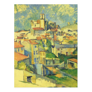 Paul Cezanne - Gardanne Postkarte