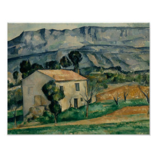 Paul Cezanne - Haus in Provence Poster