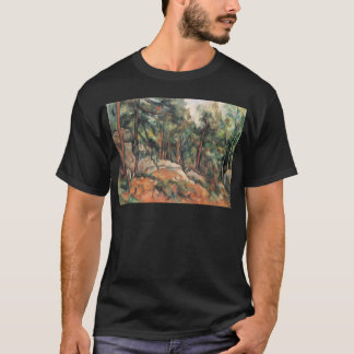 Paul Cezanne - im Holz T-Shirt