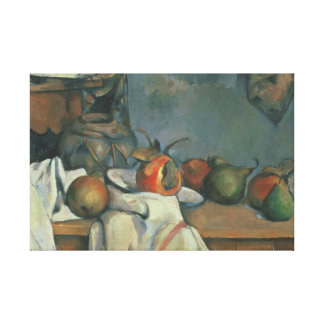 Paul Cezanne - Ingwer-Topf mit Granatapfel Leinwanddruck