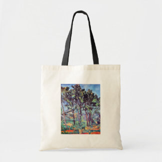 Paul Cezanne - Kiefern und Aquädukt-schöne Kunst Tragetasche