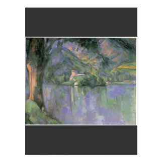 Paul Cezanne - Le lac d Annecy 1896 Postkarte