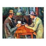 Paul Cézanne, Les Joueurs de carte (Postkarte)