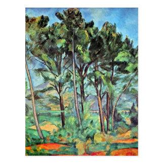 Paul Cezanne - Viaduct Postkarte