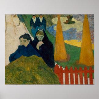 Paul Gauguin - Arlesiennes Poster