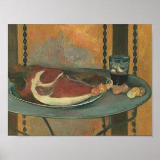 Paul Gauguin - der Schinken Poster